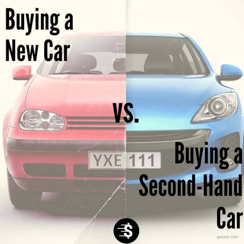 Buying used car vs new car
