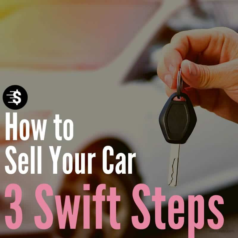 how to sell car in 3 steps